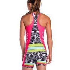 5657f45103c Coeur Women s Triathlon Top - Tropical Punch. Tri ShortsTriathlon ...
