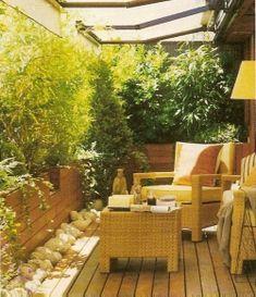 terraza cerco natural