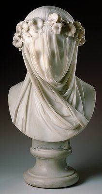 Veiled lady- It looks like her face would feel soft because it has some sort of cloth over her face.