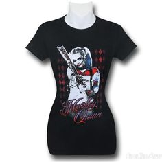 Suicide Squad Harley Quinn Bat Women's T-Shirt
