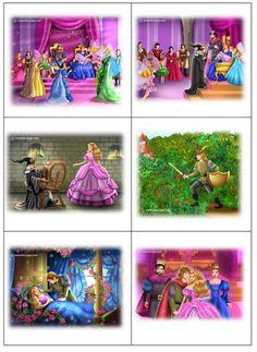 speelplankaarten Doornroosje Sequencing Pictures, Sequencing Cards, Story Sequencing, Kindergarten Writing Activities, Sequencing Activities, Teaching Kids, Every Disney Princess, Princess Art, Grammar For Kids
