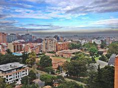 Desde la séptima hacia el Oeste (Bogotá).