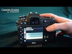 How to set a self-timer on the Nikon D7100 - YouTube