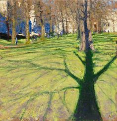 Andrew Gifford Green Park with Shadow of Tree 2012