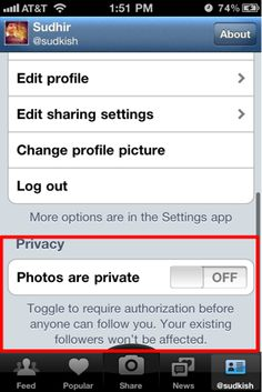 How do you use Instagram without sharing the photos you take?