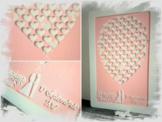 Alternative Guest Book - pink Guest Book - Balloon Wedding Guest Book Balloon Wedding, Guest Book Alternatives, Wedding Guest Book, Wedding Decorations, Woodworking, Frame, Pink, Home Decor, Picture Frame