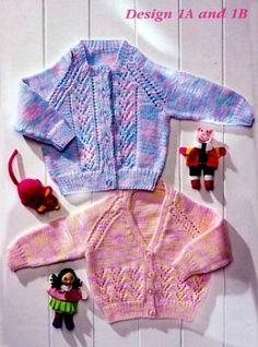 Vintage Baby Knitting Patterns - Page 1
