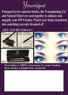 3D lashes from Younique   https://www.youniqueproducts.com/TeamCrawford/party/638991/view
