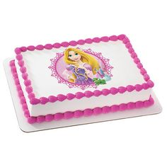 Disney Princess Rapunzel PhotoCake® Image http://LuvPersonalized.com