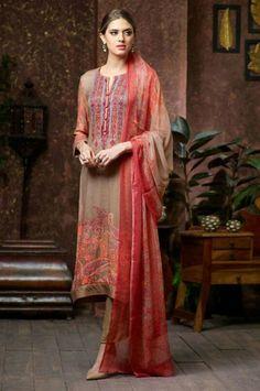 Pashmina Churidar Salwar Suit