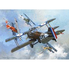 world war 1 aircraft art Ww2 Aircraft, Fighter Aircraft, Military Aircraft, Fokker Dr1, Ww1 Art, Airplane Art, Fighter Pilot, Aviation Art, Military Art