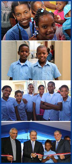 Tres escuelas santo domingo norte inauguracion
