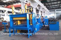 Transformer corrugated wall tanks molding machine