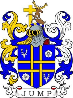 Jump Family Crest and Coat of Arms