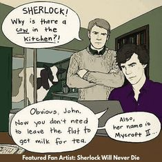19 Hilarious Sherlock Memes That'll Tickle Your Funny Bone fanfiction memes are pure pleasure. With Sherlock, even the general sherlock fandom gives us some great memes. If you love fanfiction and fanfiction memes check out our favourite sherlock memes in Sherlock Meme, Sherlock John, Sherlock Quotes, Watson Sherlock, Jim Moriarty, Sherlock Holmes Funny, Sherlock Cartoon, Sherlock Poster, Sherlock Season