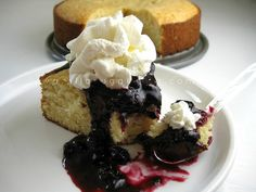 blueberry shortcake by Vanilla Sugar Blog, via Flickr