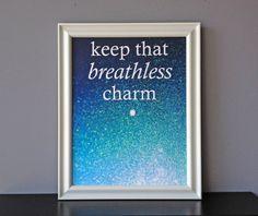 keep that breathless charm, $20.00