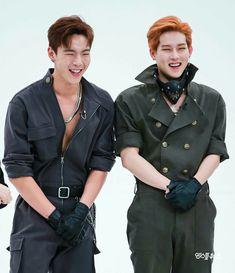 Monsta X-Son Hyun-woo  Shownu e Lee Joo-heon  Jooheon