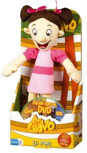 El Chavo Plush With Dvd - Popis: Toys & Games    This popular El Chavo Popis doll comes with a special feature DVD. Collectible toy.