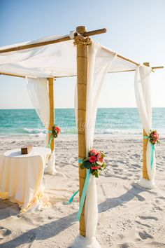 Get married under the sun on the sandy shores of The Resort at Longboat Key Club!