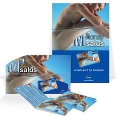 "Carta revolving M'honey Card, gruppo MPS. Declinazione ""salus"", multimateriale."