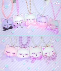 cute—can—kill:  Fancy and mystical kitties~! They will be available soon on http://cutecankill.storenvy.com♡♡♡