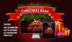 ThemeForest – 3D Christmas Bash