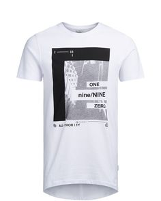 GRAPHIC T-SHIRT, White, large