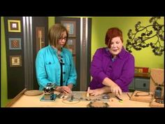 Syndee Holt demonstrates how she makes metallic polymer clay beads. Some very useful ideas here.