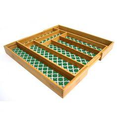 Expandable Flatware Tray