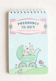 pregnancy to-do's: a book of lists for moms-to-be