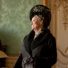 """Dowager Countess: """"'Lie' is so unmusical a word."""""""