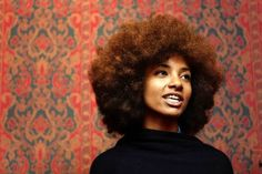 19 Celebrities Who Rock Natural Hair via Brit + Co.