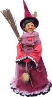 LaBefana The Italian Christmas Witch Doll - Red