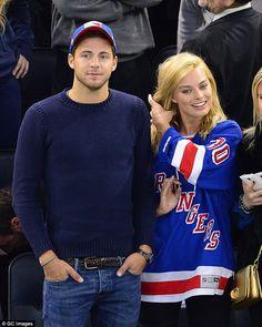 Margot Robbie is still dating Tom Ackerely #dailymail