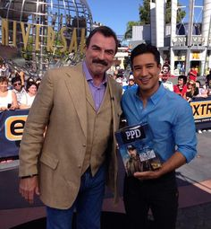 Tom Selleck and Mario Lopez both have Conservative values.