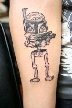 #bobba #fett #star #wars #tattoos
