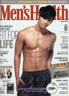 Chan+Sung+2Pm   Chansung (2PM) despliega sus encantos para Men's Health.