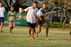 Sports teach children some of life's most important lessons. Friendship, fair play and leadership are cultivated during recreation.