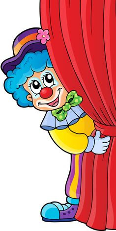 Funny Baby Clown Images Are Free To Copy For Your Personal Use. Art Drawings For Kids, Drawing For Kids, Art For Kids, Clown Crafts, Circus Crafts, Circus Birthday, Circus Theme, Happy Birthday, Clown Party