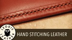 Hand Stitching Leather