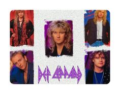Awesome Music Mouse Pad Def Leppard