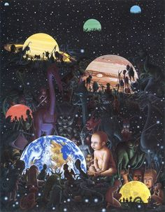 """""""Mind"""" is a tool invented by the universe to see itself; but it can never see all of itself, for much the same reason that you can't see your own back. -- Robert Anton Wilson"""
