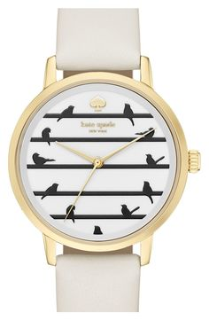 Kate Spade Birds on a Wire watch (via Nordstrom).
