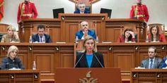 """Mogherini thirrja e fundit: """" Ne besojmë tek të gjithë partnerët tanë shqiptarë …"""""""