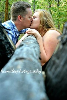 An engagement shoot with a lovely couple