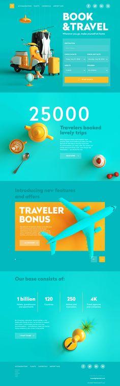Site Web Design, Creative Web Design, Website Design Layout, Page Design, Layout Design, Design Design, Travel Website Design, Web Design Color, Clean Web Design