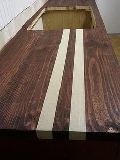 Encimera de madera para la cocina 10