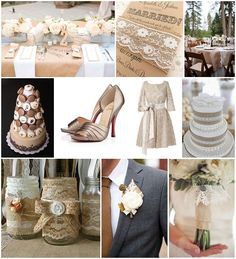 Burlap and Lace Wedding Ideas for your wedding day with lace wedding dress, macaron tower, burlap wedding cake, & burlap and lace wedding stationery French Wedding Style, Chic Wedding, Wedding Trends, Wedding Styles, Rustic Wedding, Dream Wedding, Wedding Ideas, Wedding Cake, Wedding Burlap