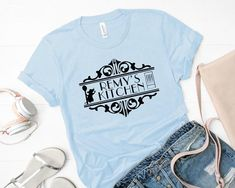 Remy's Kitchen Shirt Disney Shirt Matching Disney | Etsy Matching Disney Shirts, Disney Shirts For Family, Family Shirts, Ratatouille Disney, Starbucks Shirt, Buy Clothes Online, Mickey Mouse Shirts, Disney Outfits, Disney Clothes